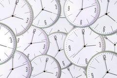 Fondo del reloj Falta de tiempo del concepto exactitud retraso stock de ilustración