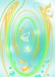 Fondo del resorte con la mariposa Imagen de archivo libre de regalías