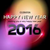 Fondo del resplandor del Año Nuevo Imágenes de archivo libres de regalías