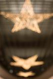 Fondo del resplandor del estilo de la estrella Fotografía de archivo libre de regalías