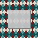 Fondo del Rhombus con el espacio de la copia Imágenes de archivo libres de regalías