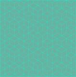Fondo del Rhombus y del cubo Foto de archivo libre de regalías