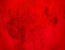 Fondo del rojo de Grunge Fotografía de archivo