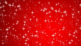 Fondo del rojo de la Navidad Imagen de archivo