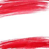 Fondo del rojo del extracto del vector de la acuarela EPS 10 Imagenes de archivo