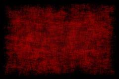 Fondo del rojo del Grunge Fotografía de archivo