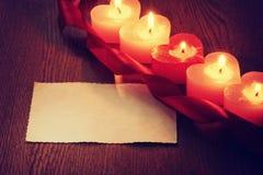 Fondo del romance del día de tarjeta del día de San Valentín Imagen de archivo libre de regalías