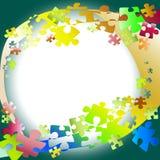 Fondo del rompecabezas Imagen de archivo libre de regalías