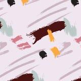 Fondo del rosa del polvo del abtract del grunge del estilo Ejemplo moderno apenado sucio del contraste Los daños salpicaron textu ilustración del vector