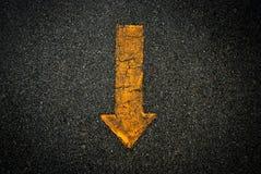 Fondo del símbolo de la muestra de la flecha Imagen de archivo libre de regalías