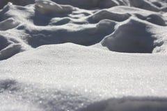 Fondo del `s del Año Nuevo Blanco como la nieve Fotos de archivo libres de regalías