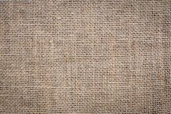Fondo del sacco della tela da imballaggio Immagine Stock