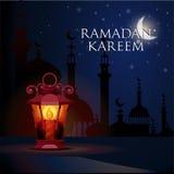 Fondo del saludo del kareem del Ramadán
