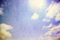 Fondo del scape del cielo de Grunge Imagen de archivo
