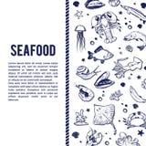 Fondo del seaworld del vector Foto de archivo