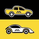 Fondo del servicio del taxi Imagenes de archivo