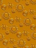 fondo del sol Stock de ilustración