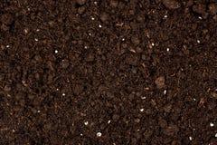 Fondo del suolo organico Fotografia Stock