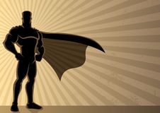 Fondo del super héroe Fotos de archivo libres de regalías