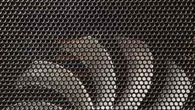 Fondo del supporto del computer portatile del fan del taccuino dell'elica fotografia stock