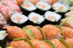 Fondo del sushi Fotografía de archivo libre de regalías
