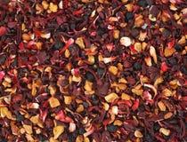Fondo del té herbario Foto de archivo
