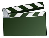 Fondo del tablero de chapaleta de la película Fotos de archivo libres de regalías