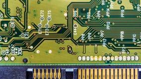 fondo del tablero del disco duro del circuito Imagen de archivo libre de regalías