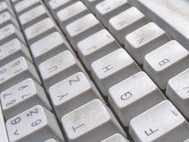 Fondo del teclado de ordenador Fotos de archivo libres de regalías