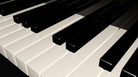 Fondo del teclado de piano Imagen de archivo libre de regalías