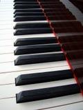 Fondo del teclado de piano Imagen de archivo