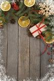 Fondo del tema de la Navidad Imagenes de archivo