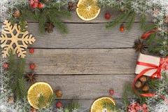 Fondo del tema de la Navidad Imagen de archivo
