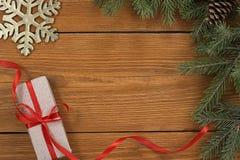 Fondo del tema de la Navidad Foto de archivo