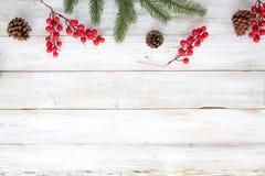 Fondo del tema de la Navidad Fotos de archivo