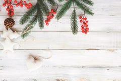 Fondo del tema de la Navidad Foto de archivo libre de regalías