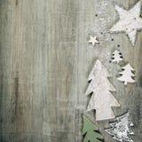Fondo del tema de la Navidad en estilo del vintage imagenes de archivo