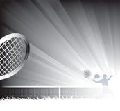 Fondo del tenis. Fotografía de archivo
