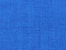 Fondo del tessuto in blu Immagine Stock