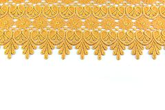 Fondo del tessuto dell'oro di bellezza Fotografia Stock