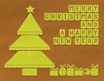 Fondo del tessuto di Buon Natale Immagini Stock Libere da Diritti