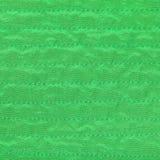 Fondo del tessuto di colore verde da seta cucita Immagine Stock