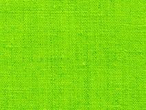 Fondo del tessuto nel verde Fotografia Stock