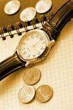 Fondo del tiempo del asunto Imágenes de archivo libres de regalías