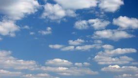 Fondo del timelapse de las nubes almacen de metraje de vídeo