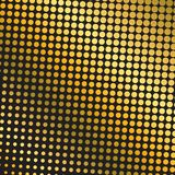 Fondo del tono medio del oro ilustración del vector