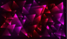 Fondo del triángulo Imágenes de archivo libres de regalías