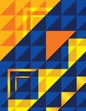 Fondo del triángulo de OYB Imágenes de archivo libres de regalías