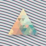 Fondo del triángulo del inconformista Imagen de archivo