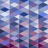 Fondo del triángulo del mosaico Fondo geométrico Fondo del Rhombus Foto de archivo libre de regalías